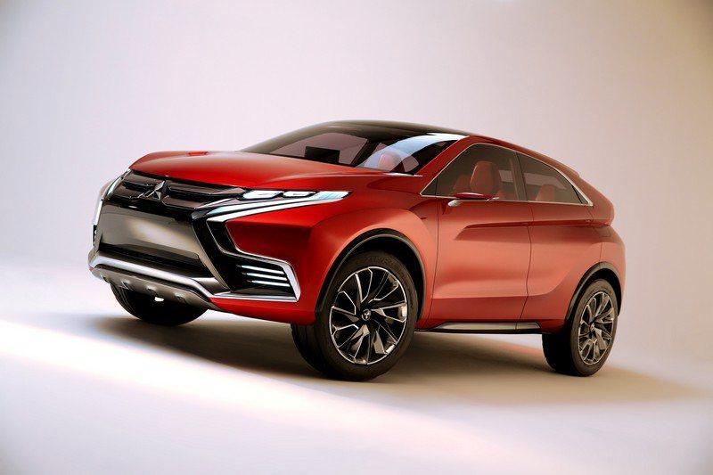 Mitsubishi在日內瓦車展帶來接進量產的跨界小型SUV-Concept X...