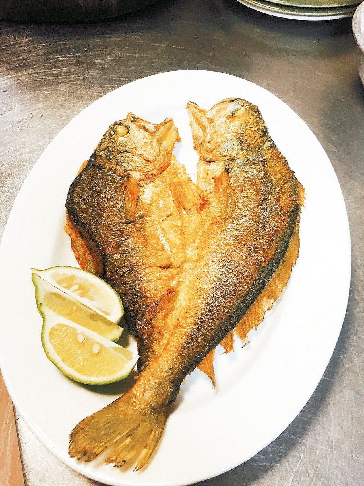 黃魚一夜干。 記者蔡家蓁/攝影