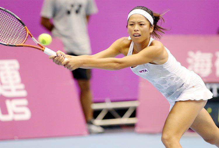 台灣網球女將謝淑薇今天在臉書表示決定奧運只打單打。 聯合報系資料照片