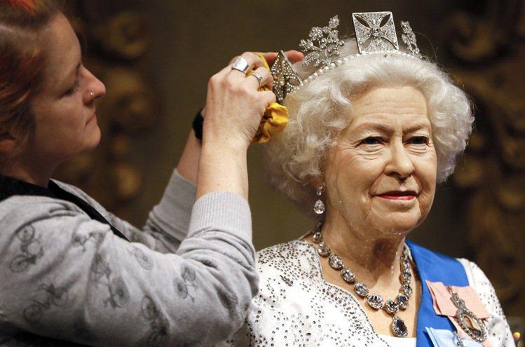 英國女王伊麗莎白二世。 圖/美聯社