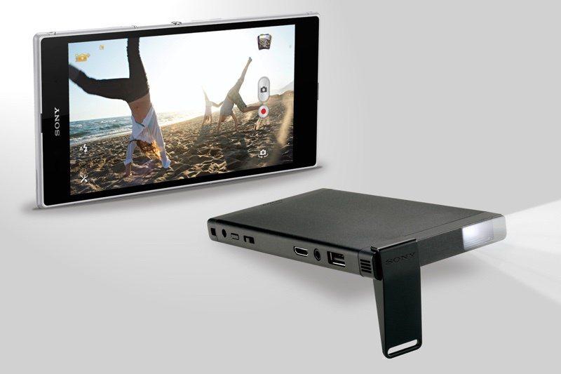 Sony微型投影機