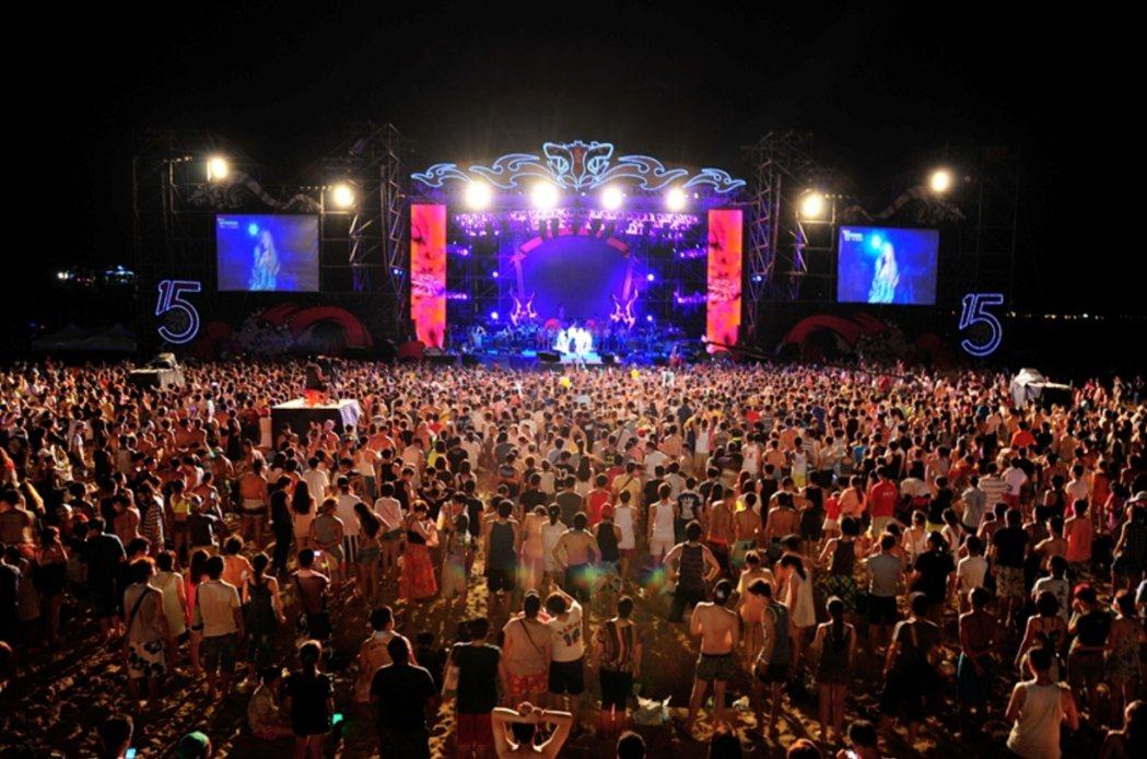 貢寮音樂祭。 圖/聯合報系資料照片