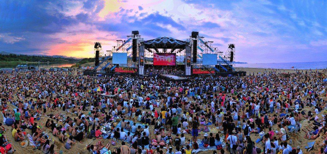 貢寮國際海洋音樂祭。 圖/新北市觀光局提供