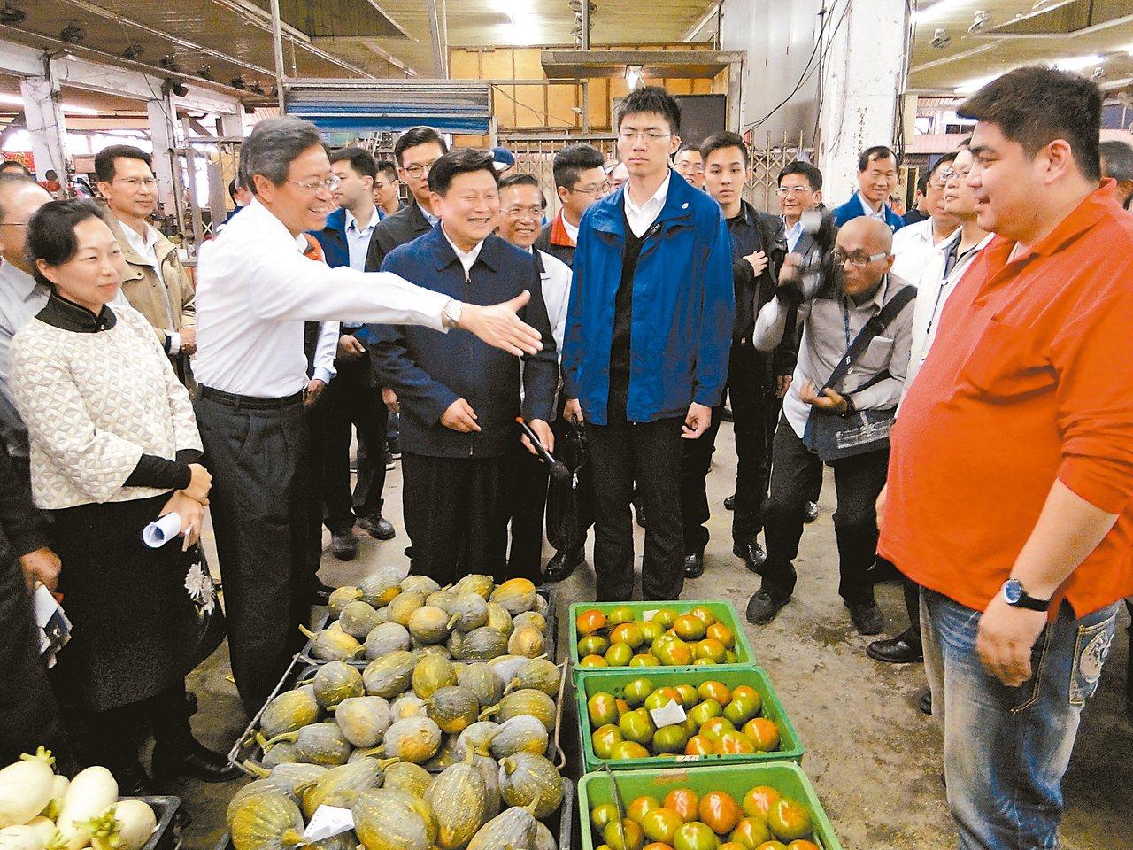花果菜市場改建 將保留口語拍賣