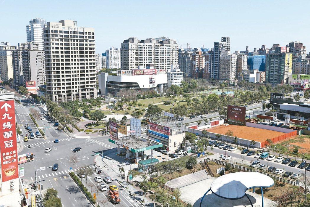 新北市林口區文化三路一段、忠孝一路街景 本報系資料庫