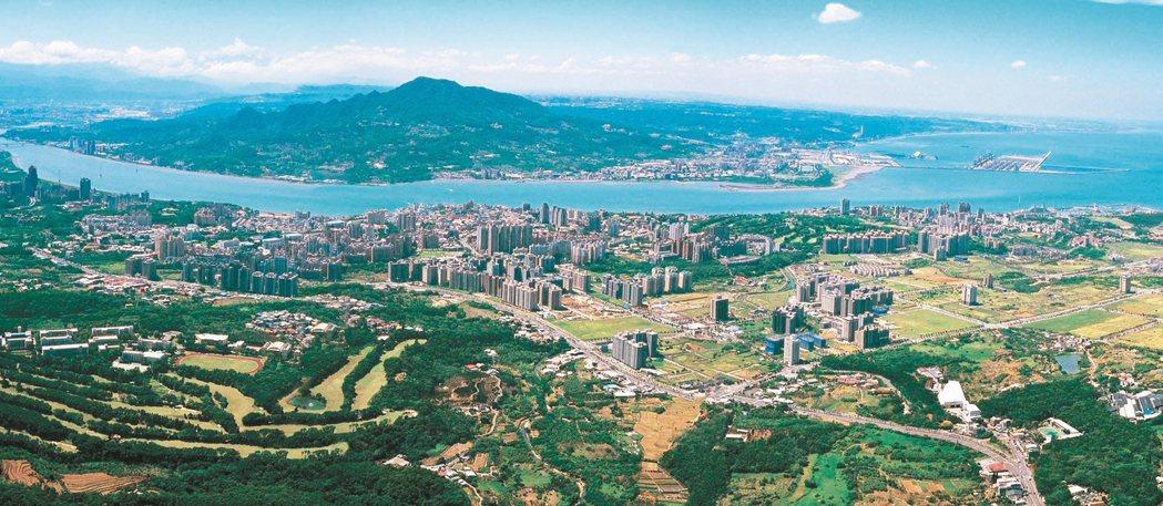 圖為淡海新市鎮。 報系資料照