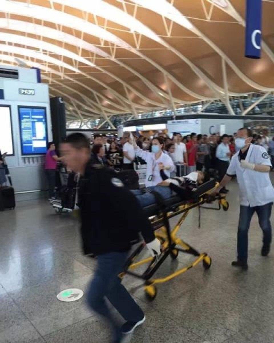 浦東機場爆炸