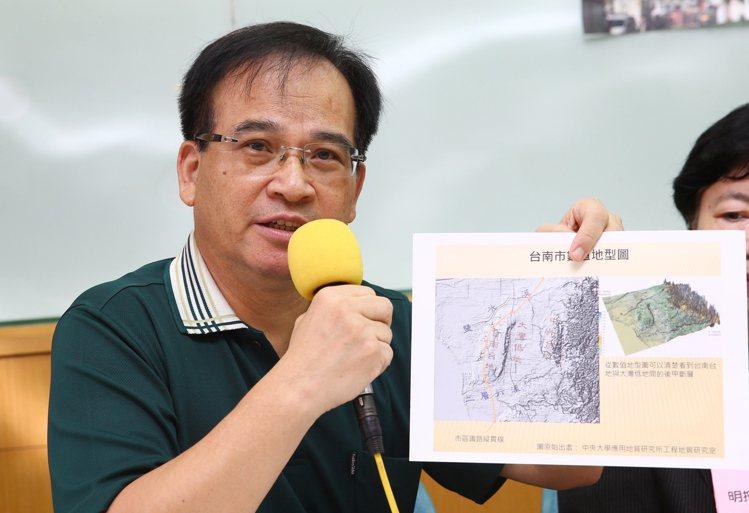 蘇煥智籲內政部:南鐵地下化 恐致土壤液化