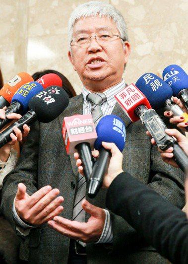 張金鶚。記者林伯東/攝影