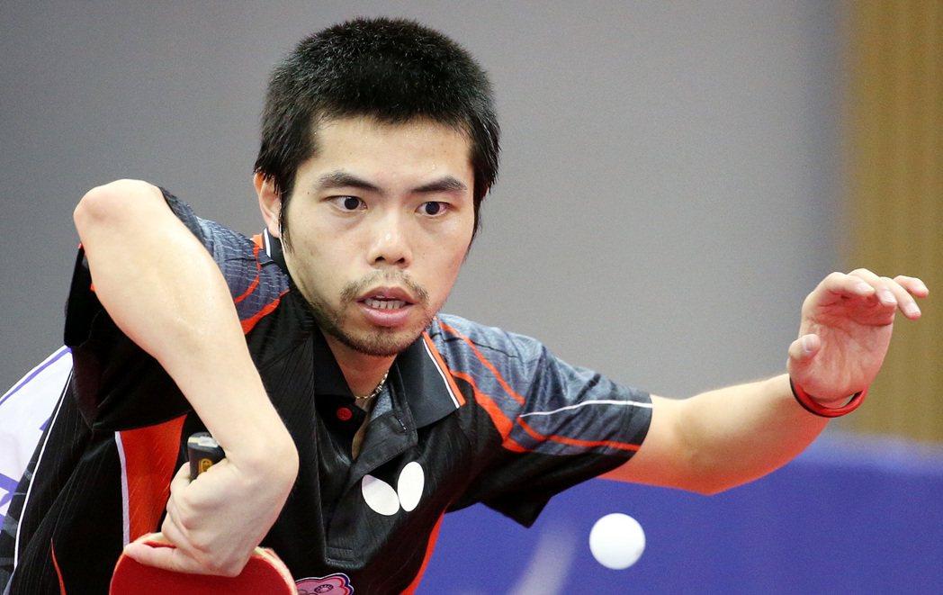 莊智淵是奧運四朝元老。 報系資料照