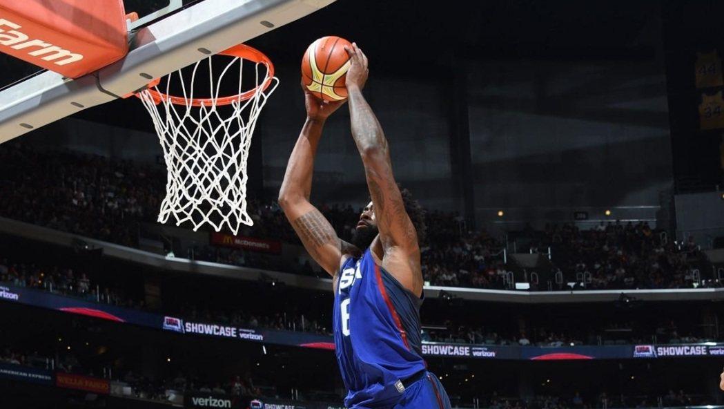 快艇中鋒小喬丹生涯首度入選美國隊出征奧運。 NBA官方推特