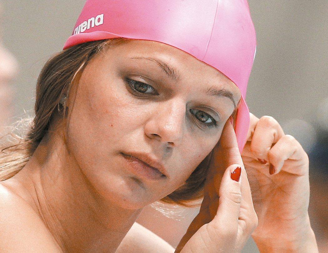 在倫敦奧運奪下銅牌的俄羅斯蛙后艾菲莫娃確定被禁賽。 美聯社