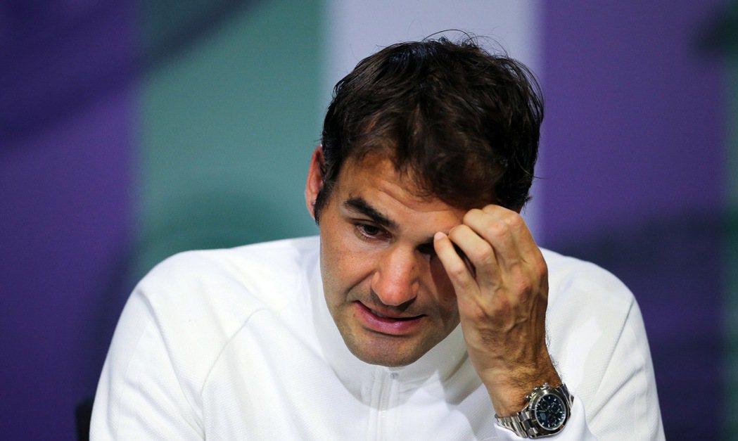 費德勒宣布將退出2016里約奧運,同時也透露2016年將不會再出賽。 美聯社資料...