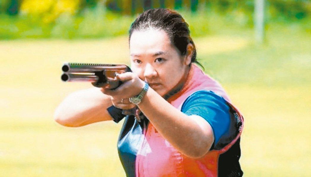 四度進軍奧運的射擊女將林怡君。 報系資料照