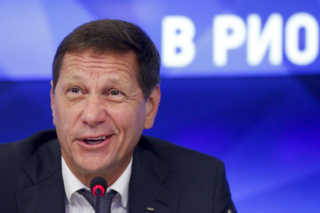 俄羅斯奧林匹克委員會主席朱可夫(Alexander Zhukov)今天說,國際田...