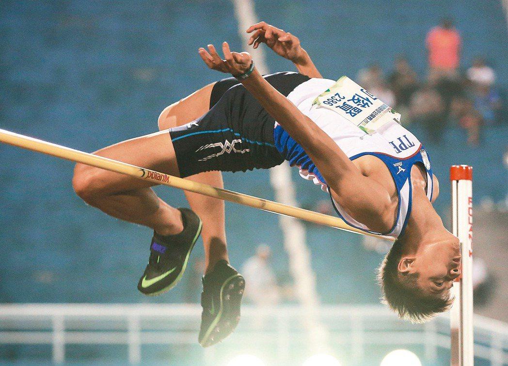 奧運田徑選手向俊賢。 田徑協會提供