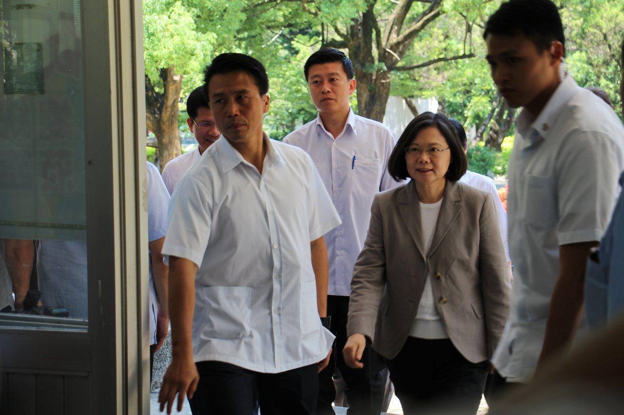 總統蔡英文。 記者洪上元/攝影