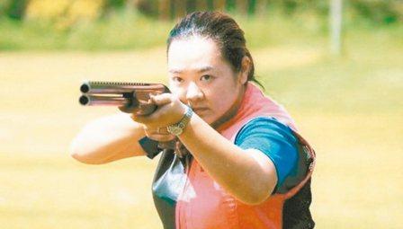 林怡君再次前進奧運,期待射出佳績。 圖/中華奧會提供
