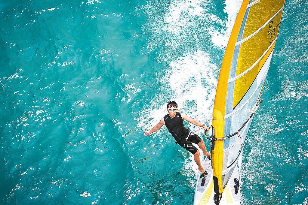 帆船好手張浩前進里約奧運,期待拚出不一樣的氣勢。 圖/張浩提供