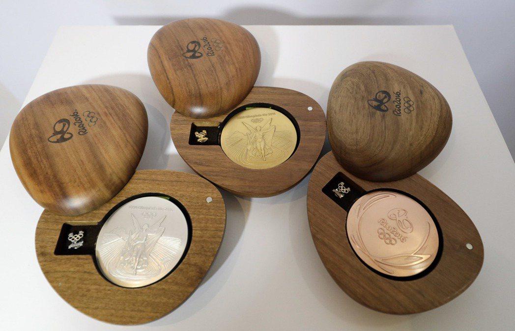 這次里約奧運金牌的「實際價值」到底是多少? 美聯社