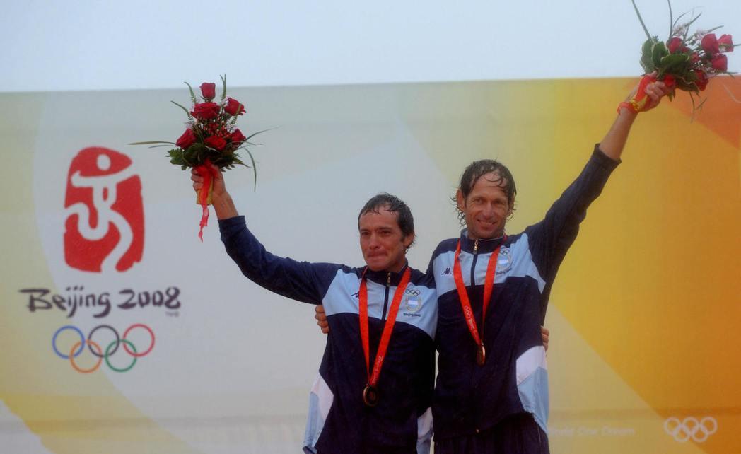 蘭赫(右)戰勝病魔後再啟航,第六度出征奧運。 (Getty Images)
