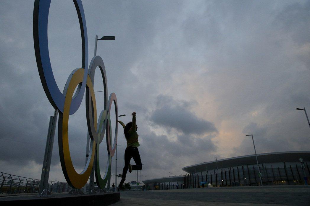 奧運即將開幕。美聯社