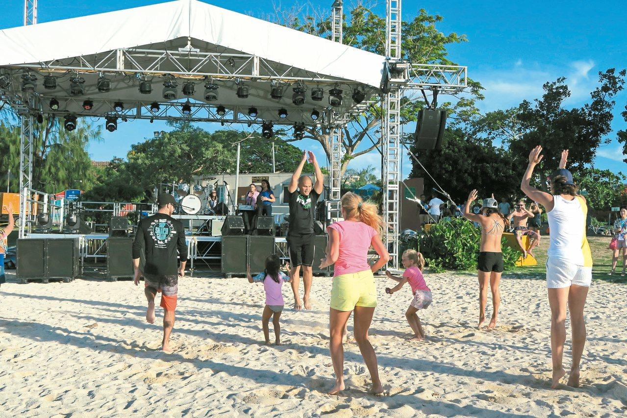 關島夏日海灘嘉年華 伴隨海風、音樂輕鬆渡假去 | 旅遊 | 聯合新聞網
