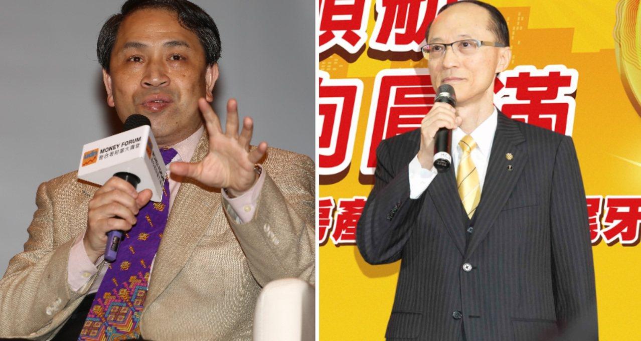 資深房市評論員倪子仁(左)、永慶房屋董事長孫慶餘(右)。 圖/報系資料照