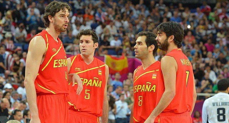 西班牙籃球隊。 NBA