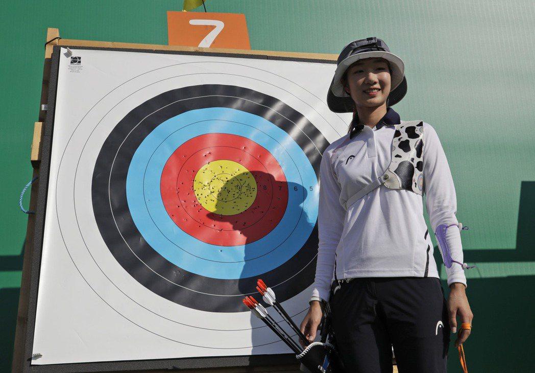 南韓是射箭最強勢的國家,資格賽比完也排名第一。 美聯社