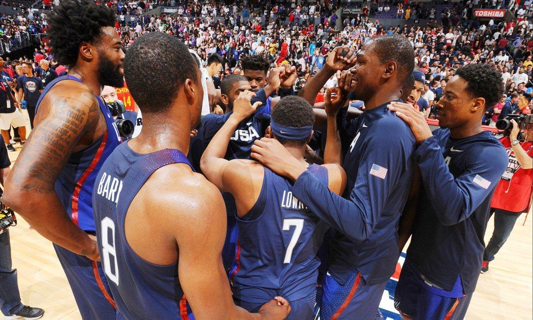 美國隊自認並無百分百奪金保證。 NBA