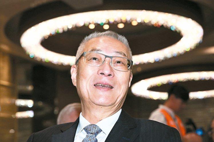 前副總統吳敦義。 記者王騰毅/攝影