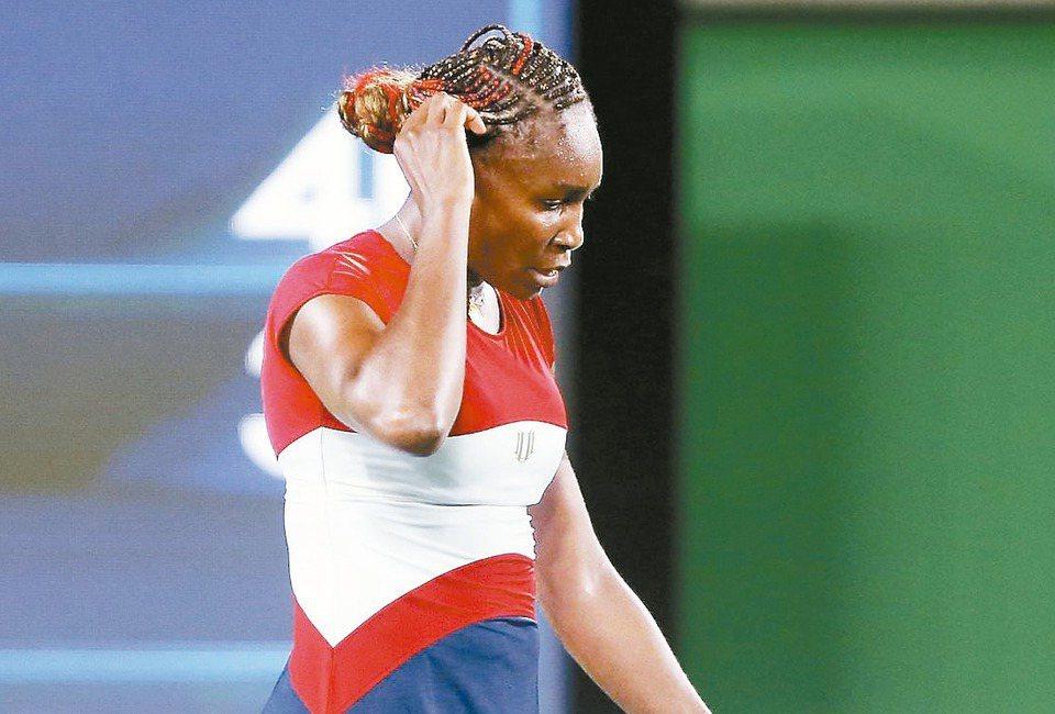 里約奧運網球賽首日爆冷頻傳,美國大威廉絲出局了。 歐新社