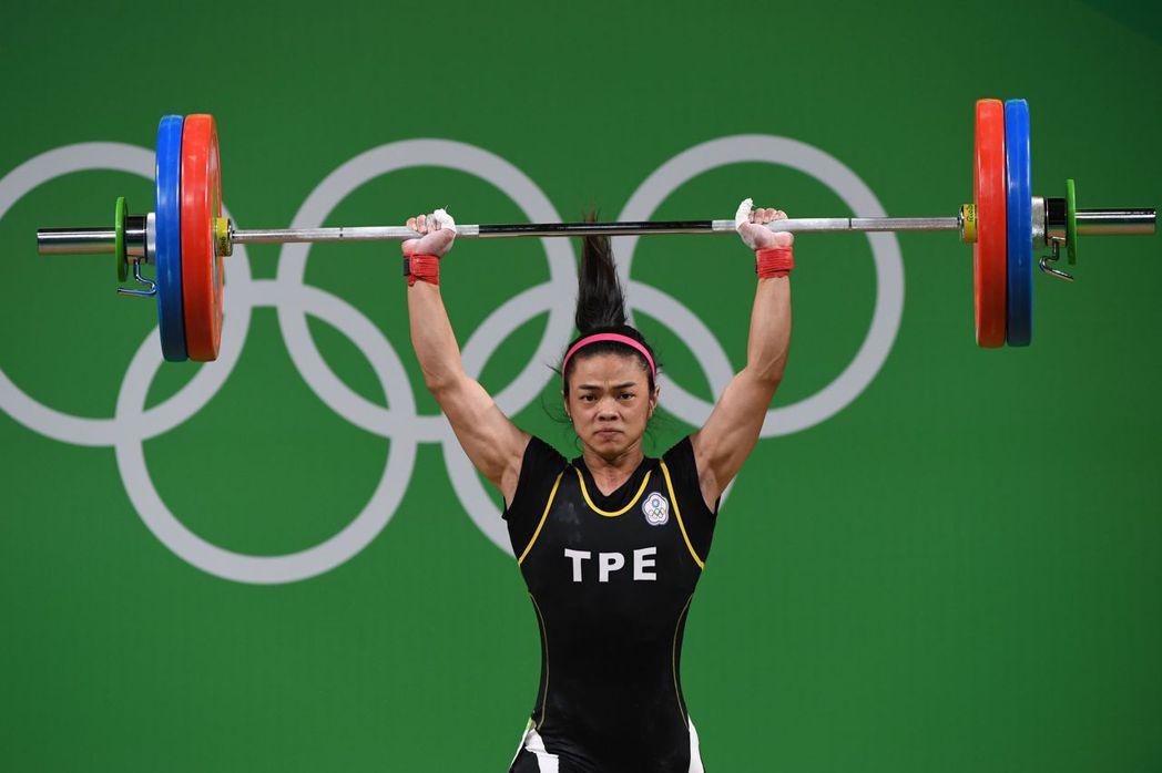 里約奧運女子舉重53公斤級,中華隊許淑淨以總和212公斤摘下金牌,為中華台北奪得...