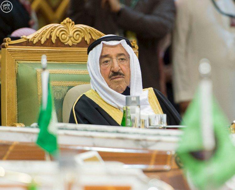 科威特國王薩巴。 圖/路透社資料照