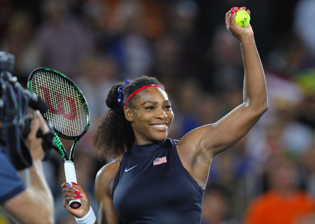 尋求衛冕的美國好手小威廉絲今天在里約奧運網球女單第2輪,以直落2盤擊敗法國女將柯...