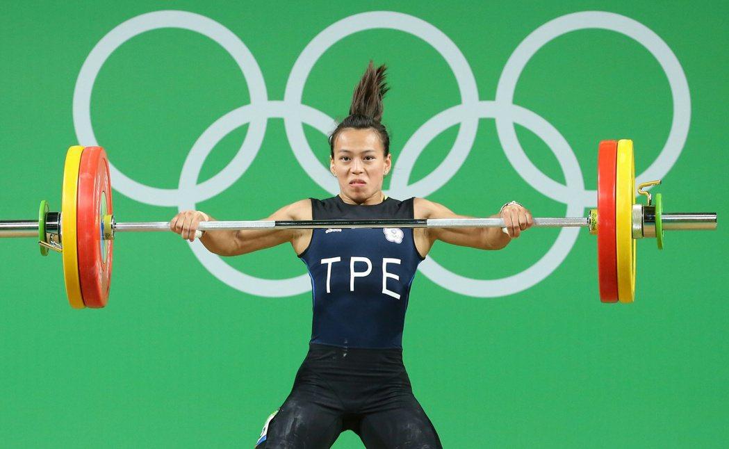 里約奧運女子舉重58公斤級比賽,我國女將郭婞淳得到銅牌。聯合報記者陳正興/攝影
