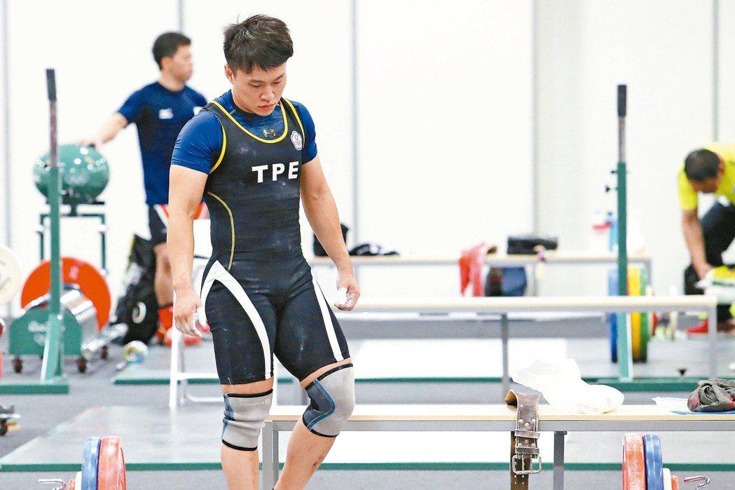 舉重女將林子琦因禁藥檢測異常,未能在奧運出賽。 報系資料照