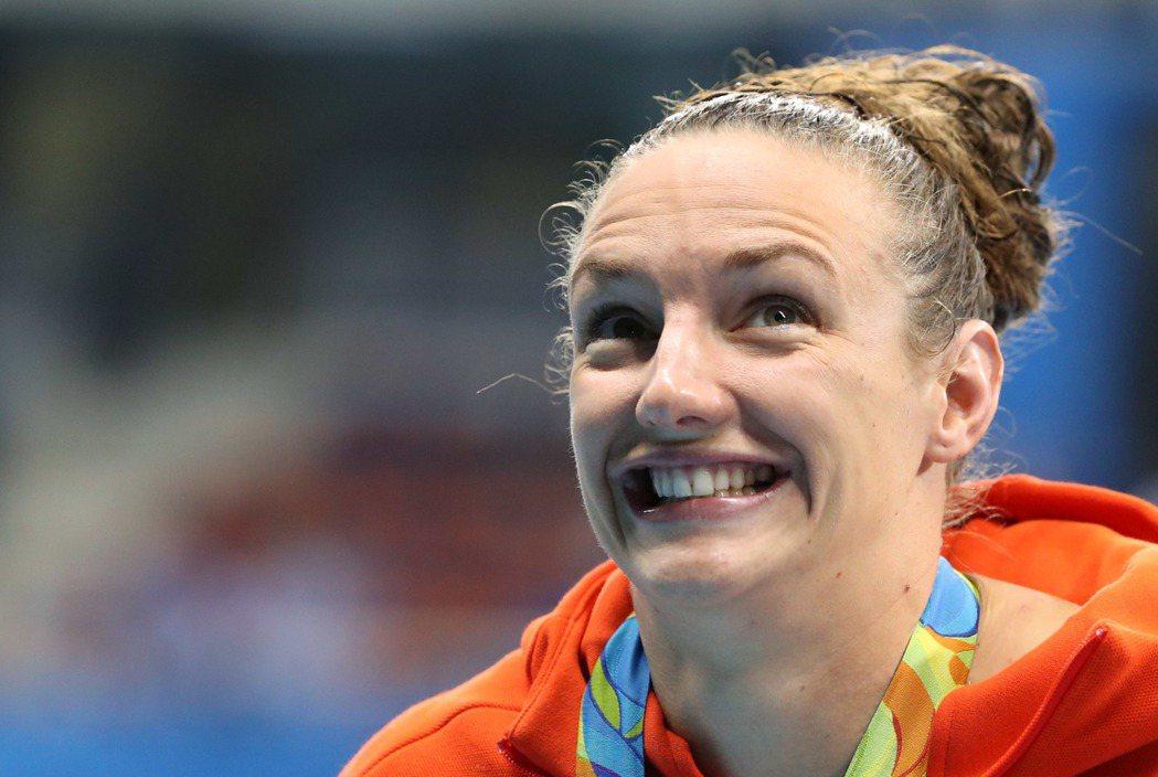 外號「鐵娘子」(Iron Lady)的匈牙利泳將霍斯祖(Katinka Hoss...