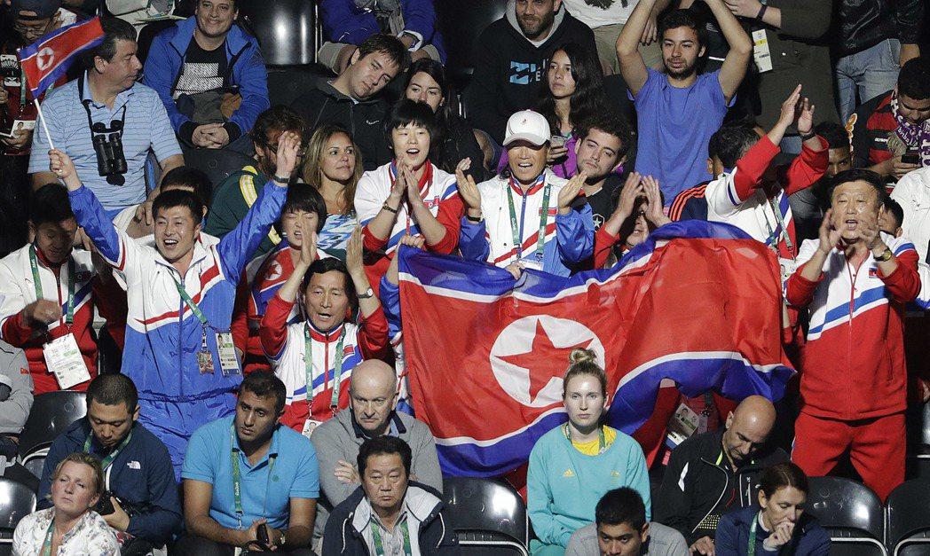 北韓加油方式,讓福原愛失了手感。 美聯社