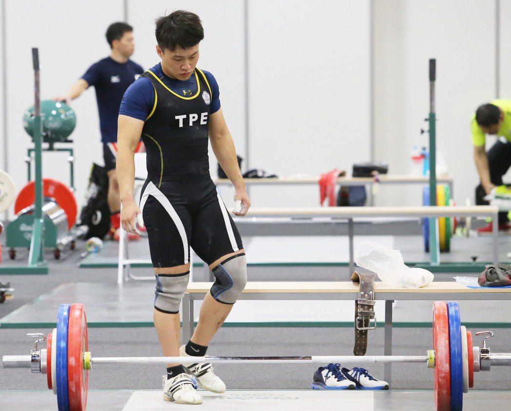 里約奧運,女子舉重選手林子琦。 記者陳正興/攝影