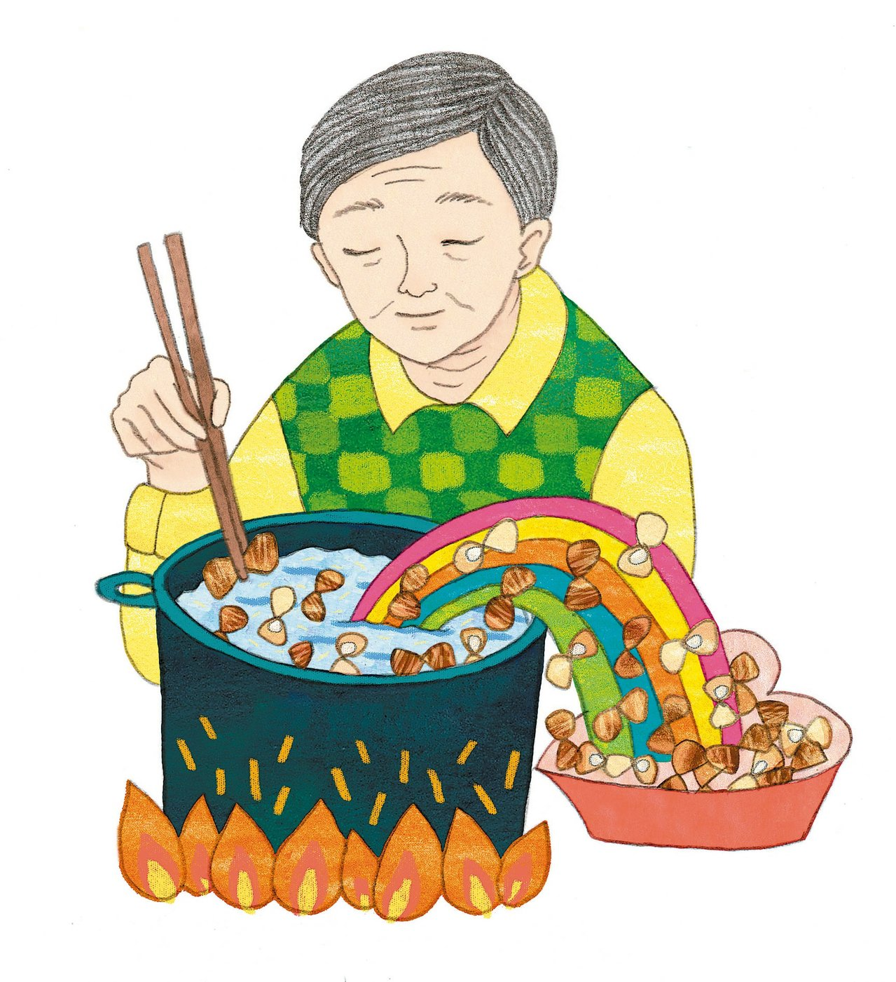 蛤蜊的滋味 圖/無疑亭