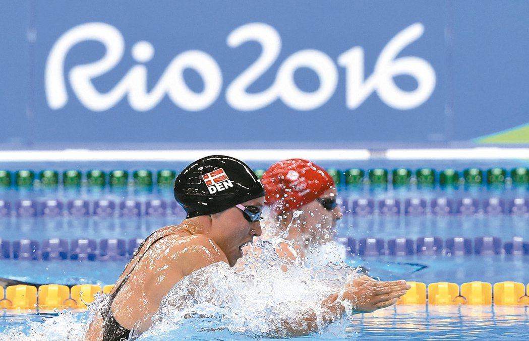 今年的里約奧運已摘下一頂桂冠:120年來賺進最多營收的奧運。 美聯社