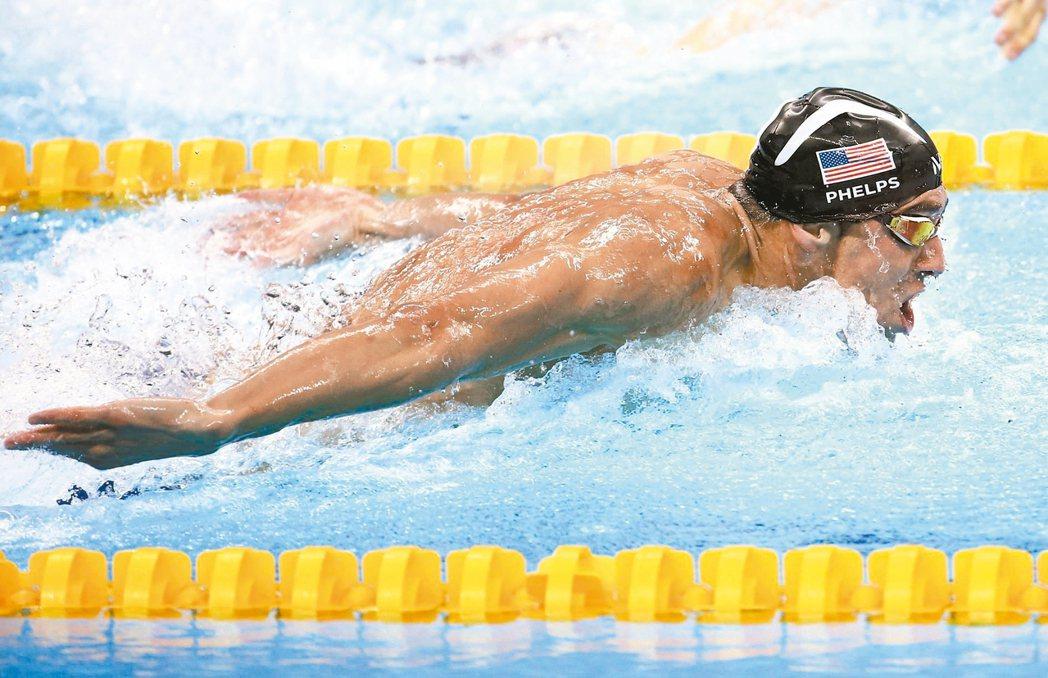 美國飛魚菲爾普斯今天不負眾望,在400米混合接力以蝶式拿下奧運生涯第23金,成為...