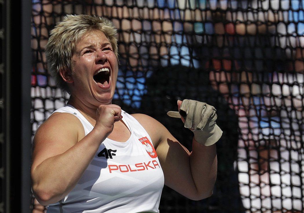 31歲的波蘭好手沃達雷茲克今天在里約奧運再度改寫自己保持的世界紀錄。 美聯社