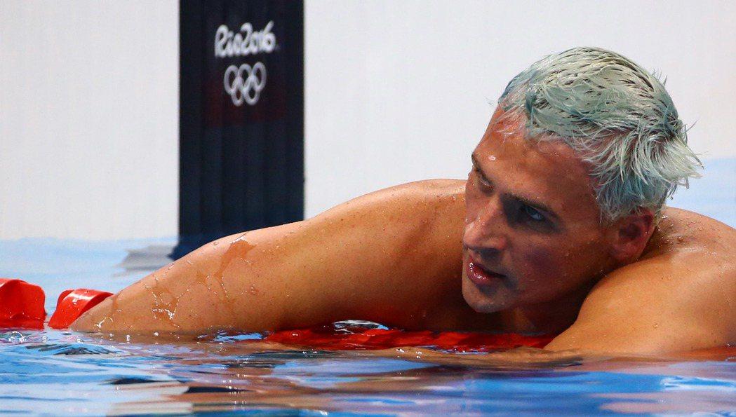 美國泳將洛克特11日參加男子200公尺個人混合式決賽。(路透) ...