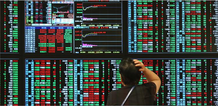 此為股市市場示意圖。圖/聯合報系資料照。