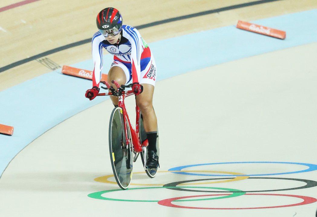 里約奧運自由車女子場地個人全能賽的第2項比賽,3公里個人爭先賽今天展開,中華隊蕭...