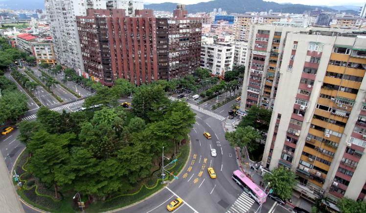 台北市民生社區附近。 圖/報系資料照