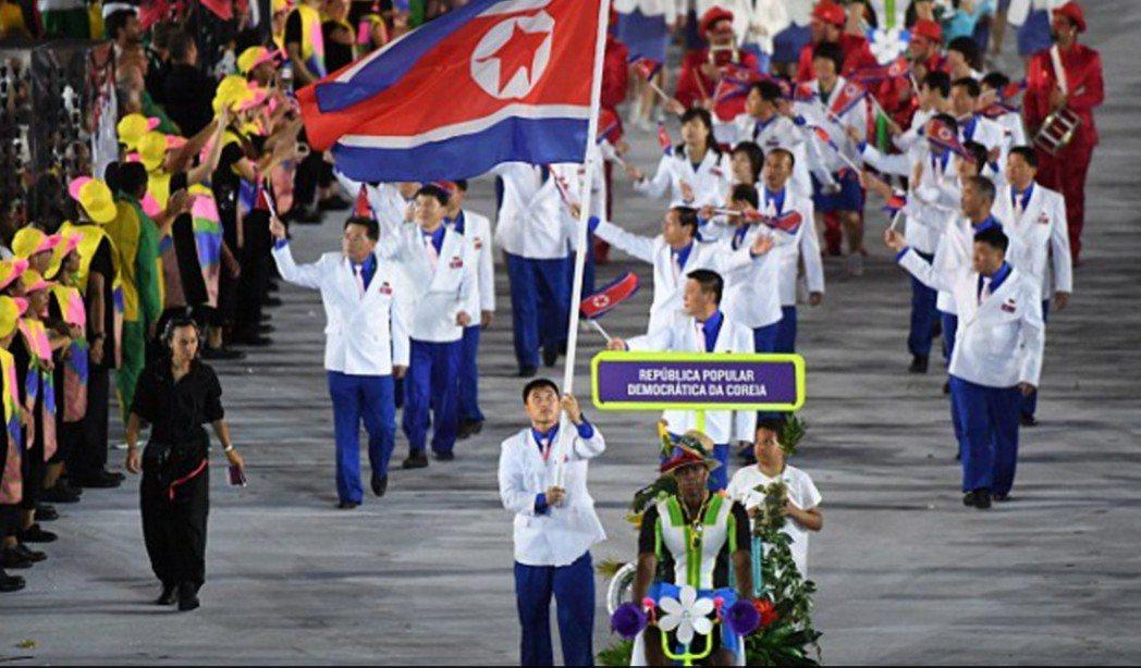 里約奧運北韓隊選手。 圖擷自dailymail